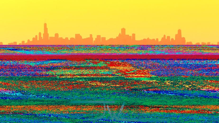 Lake Michigan Glitch