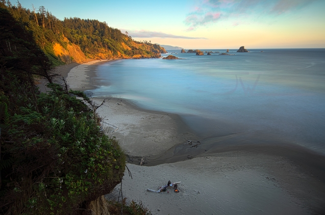 Pacific Coasts Last Light