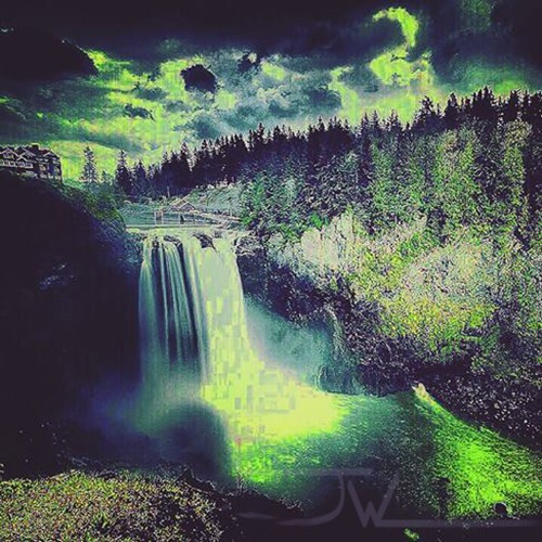 Snoqualmie Falls (overfiltered)