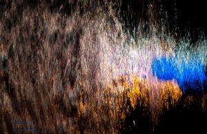 Blue Gel Reflection