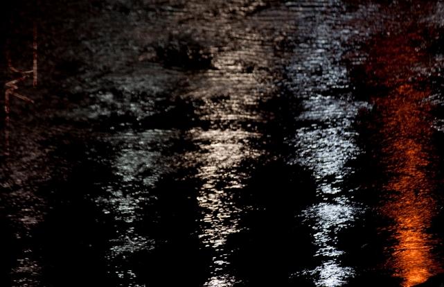 Street Light Reflection