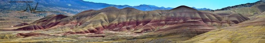 John Day Fossil Beds National Monument – The Painted Hills Unit