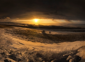 Eastern Oregon Sunset