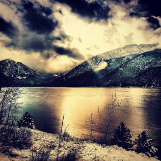 Sunbeam Over Wallowa Lake