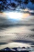 Light in the sky.