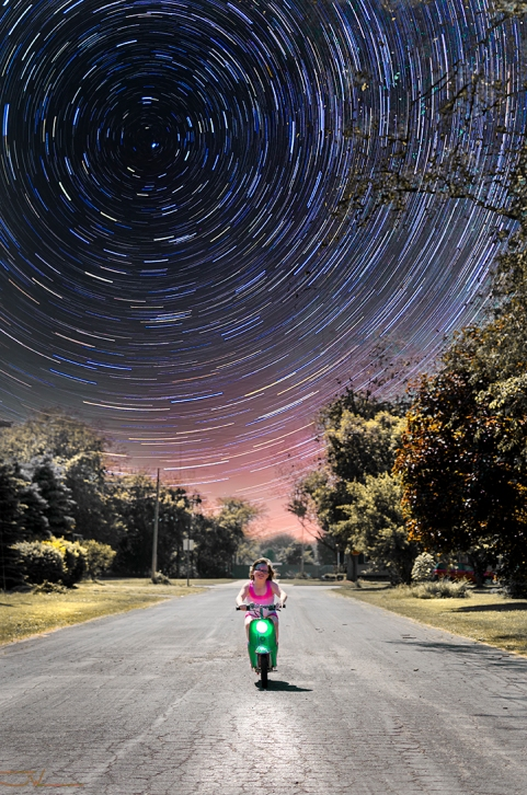 Stardust on a Scooter