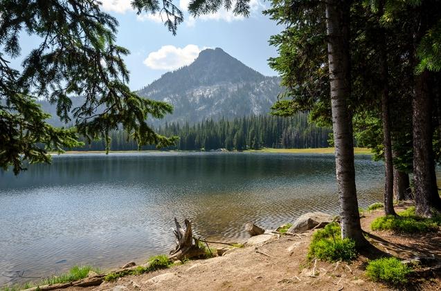 Mountain Lake Scene 45